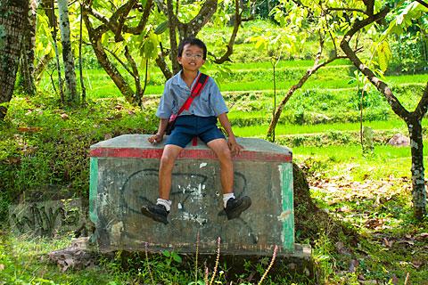 Oki jalan kaki ke curug Banyunibo, Batur, Patuk, Gunungkidul
