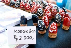 Mainan Kodok-Kodokan itu Berbunyi Nyaring!