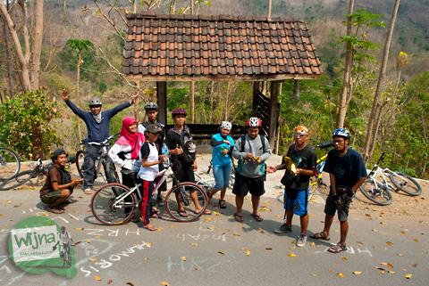 Pengalaman bersepeda di jalur wonolelo-piyungan srimulyo bantul yogyakarta