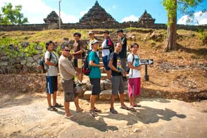 Video Bubarnya SPSS di Candi Ijo
