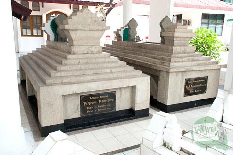 makam ratna ningsih istri pangeran diponegoro di kota Makassar