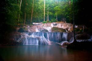Air Terjun Moramo sang Primadona Tanjung Peropa