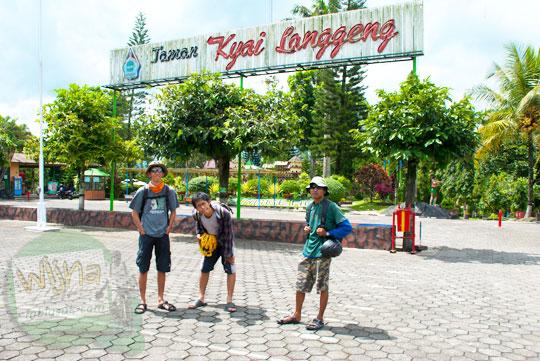 rute bersepeda dari Jogja menuju Taman Kyai Langgeng Kota Magelang di tahun 2012