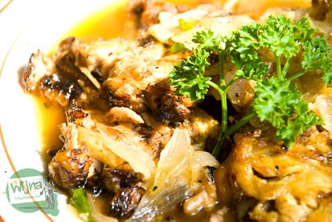 resep masakan ayam pecak khas Tangerang, Banten