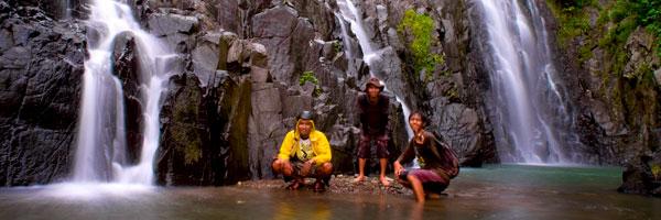 cerita bloger bersepeda ke curug indah gedangsari pada tahun 2012