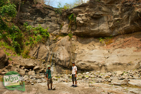 Kemarau di Air Terjun Purba Njurug, Patuk, Ngoro-oro, Lemah Abang, Gunungkidul