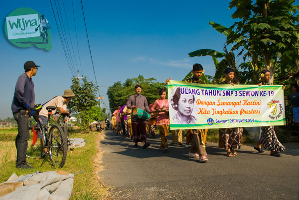 Kirab Ulang Tahun SMP 3 Sewon Bantul 2012