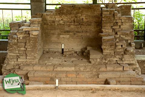 Bekas mihrab masjid Kauman Keraton Pleret di Pleret, Bantul