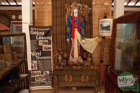 Cerita asal-usul benda supranatural Nini Thowong di yang disimpan di Museum Tani Indonesia, Imogiri, Bantul