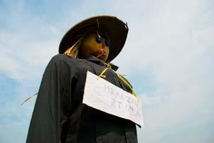 Festivalnya Memedi Sawah khas Dusun Candran