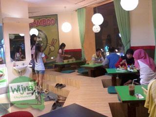 rata-rata harga menu makanan di restoran yang ada di Galeria Mall, Yogyakarta