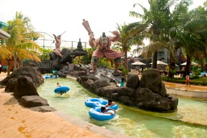 Main Air di Pandawa Water World
