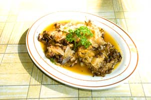 Ayam Pecak tanpa Sambal Pecak