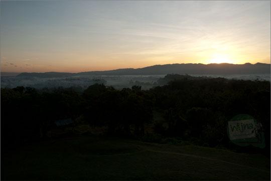 olah foto RAW objek mahatahari terbit, sunrise, dengan Adobe Lightroom Indonesia