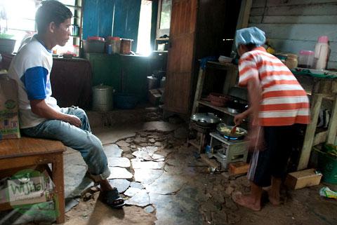 Pak Jumali dari Boyolali transmigran Konawe Selatan, Moramo, Sulawesi Tenggara
