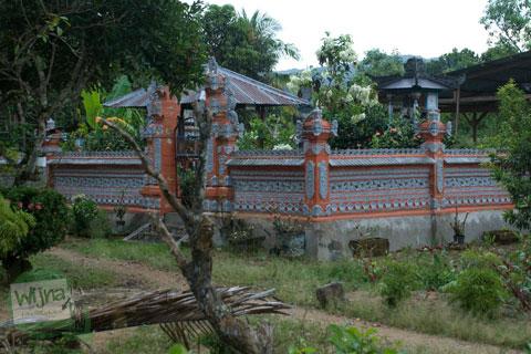 Suasana di pemukiman transmigran di Konawe Selatan, Moramo, Sulawesi Tenggara