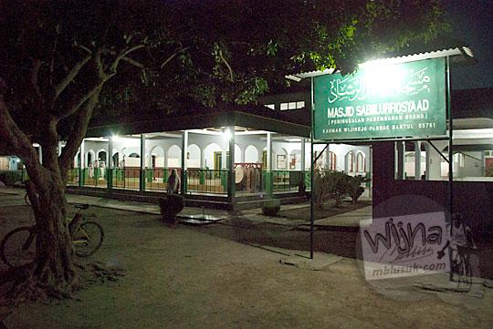 Kemegahan arsitektur Masjid Sabilurrosyad, Kauman, Wijirejo, Pandak, Bantul