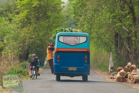contoh kasus permasalahan angkutan umum di pedesaan jawa
