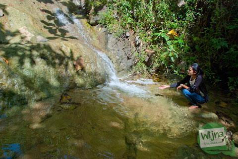 Air terjun Senthong, Pundong yang kering di musim kemarau