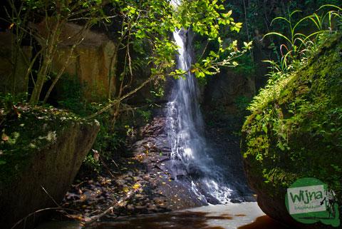 air terjun (tritis) di cepit, bokoharjo, prambanan yang belum banyak orang tahu dan masih tersembunyi