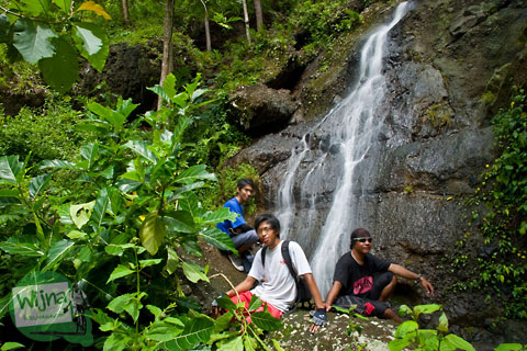 Air terjun curug tersembunyi di Bantul yang tidak banyak orang tahu yaitu Curug Kedung Miri yang lokasinya berada tidak jauh dari Jembatan gantung Kuning Selopamioro