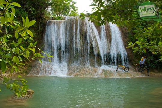 Foto Grojogan Pulosari di Desa Wisata Krebet, Pajangan, Bantul