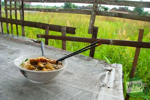 Mie Ayam di Nganjat, Polanharjo, Klaten, Jawa Tengah