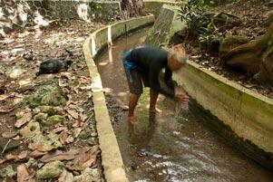 Sumber Air Ngeleng di Giritirto