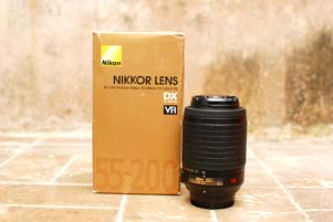 Thumbnail artikel blog berjudul Review Lensa Nikkor 55-200mm DX VR