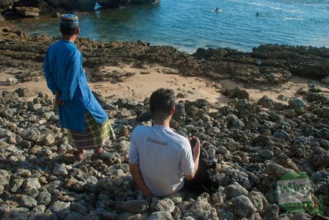 ikhwanul muslimin rihlah di pantai drini sambil berdakwah