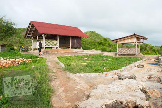 Pondok Mancing milik AA YKPN di Laut Bekah, Purwosari, Gunungkidul pada tahun 2012