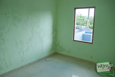 bentuk desain interior kamar rumah tipe 36 murah yang dijual di perumahan Bantul