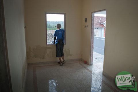 kualitas tegel lantai keramik rumah tipe 36 murah yang dijual di perumahan Bantul