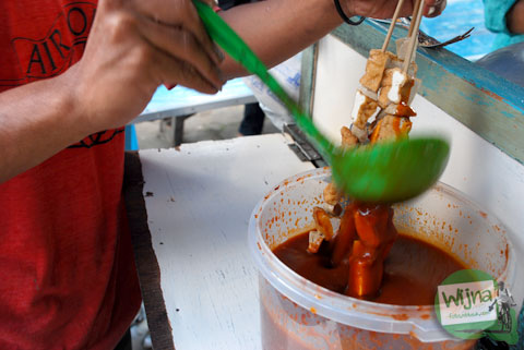 resep kuah sate tahu enak dari mas penjual di alun-alun wonosobo