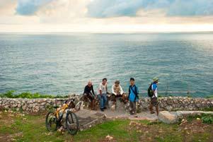 Thumbnail untuk artikel blog berjudul Trauma Nyepeda ke Pantai Bekah