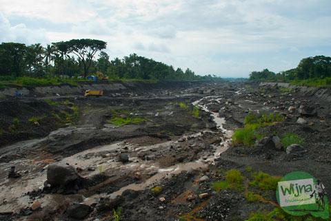 Kali Gendol jadi Tambang Pasir Murah Tahun 2013 di Sleman, Yogyakarta
