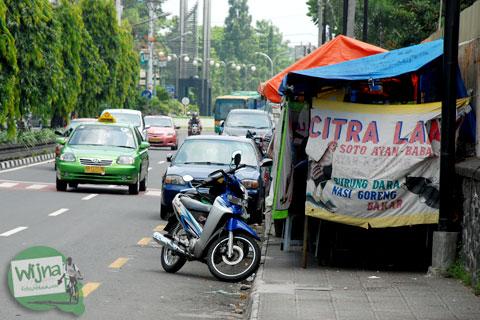 5 Alasan Tidak Berjalan Kaki di Kota Jogja