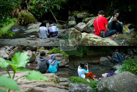 Tempat mojok buat pacaran sepi di kawasan Curug Nangka, Bogor