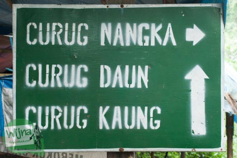 Urutan berwisata keluarga di Curug Nangka Bogor