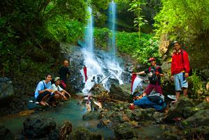 Thumbnail artikel blog berjudul Blusukan ke Curug Kembar Wukirharjo Prambanan