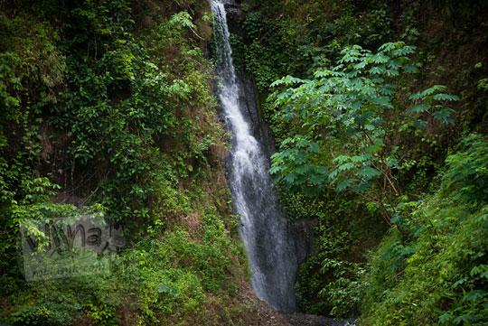 Air Terjun Curug Klanceng Putih yang mistis di pelosok Purworejo, Jawa Tengah