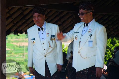 Bupati Banjarnegara menghadiri acara Dieng Culture Festival 2014