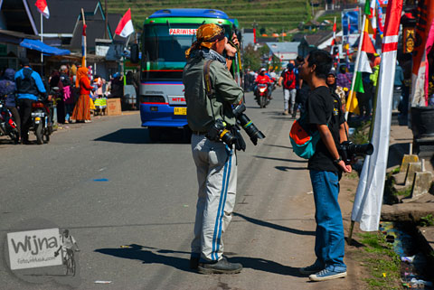 nama fotografer asing yang meliput Dieng Culture Festival 2014
