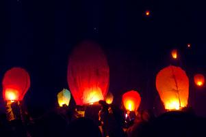 Dieng Culture Festival 2014: Euforia Lampion dan Kembang Api