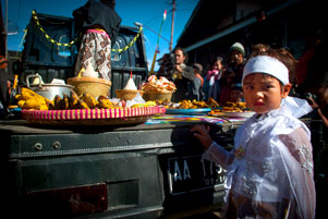 Dieng Culture Festival 2014: Ritual Ruwatan si Anak Gembel