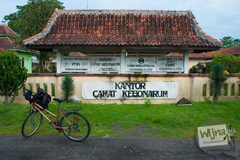 Lokasi Kantor Kecamatan Kebonarum di Kabupaten Klaten, Jawa Tengah