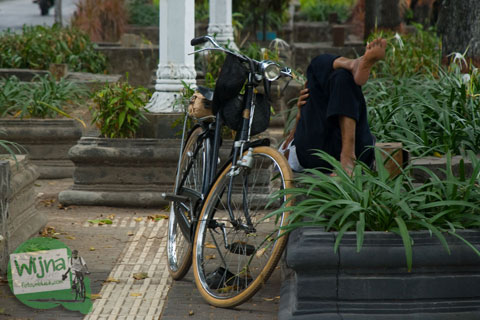 5 Alasan Jogja Masih Nyaman untuk Bersepeda karena Banyak Sawah