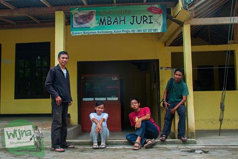 Rute lokasi ke Warung Makan Mbah Juri, Banjaroya, Kulon Progo