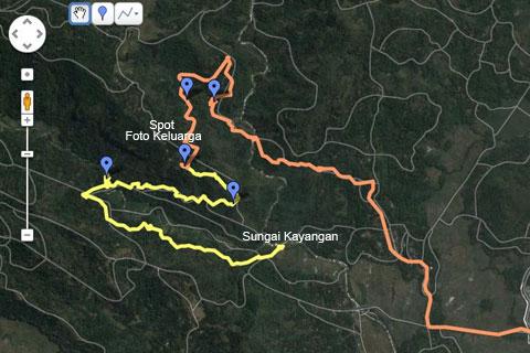 Rute bersepeda ke Bendung Kayangan Girimulyo dan Ketemu Air Terjun Tersembunyi di Kulon Progo pada zaman dulu April 2014