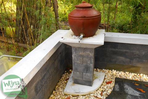 Berwudu dengan air Sendang Klampok, Mata air pengharapan di Salamrejo, Sentolo, Kulon Progo